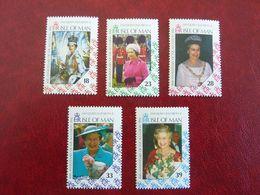 1992   Queen Elisabeth II    SG = 508 / 512   ** MNH - Man (Insel)