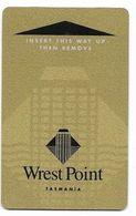 Wrest Point Hotel Casino, Tasmania, Australia, Used Magnetic Hotel Room Key Card # Wrestpoint-1 - Hotelkarten