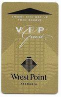 Wrest Point Hotel Casino, Tasmania, Australia, Used Magnetic Hotel Room Key Card # Wrestpoint-2 - Hotelkarten