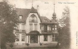 """Hove : Villa """" Ons Genoegen """" 1912 - Hove"""