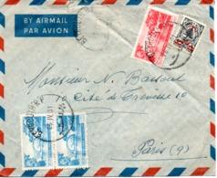 LIBAN  VIEILLE LETTRE  1951 - Liban