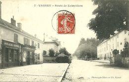 88 VOSGES VAGNEY ROUTE ZAINVILLERS BAZAR GROSJEAN GEORGEL 1908 JOLI  PLAN  A VOIR - France