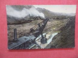 Steam Shovels At Work In Culebra Cut  Panama-      Ref 4216 - Panamá