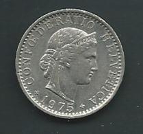 SUISSE  20 RAPPEN 1975 Pia 23307 - Suisse