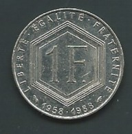 FRANCE - 1988 - MONNAIE - 1 FRANC - CHARLES DE GAULLE Pia 23308 - France