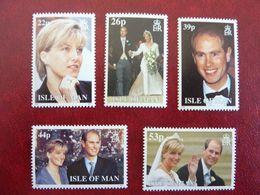 1999   Wedding Edward And Sophie     SG = 851 / 855    ** MNH - Man (Insel)