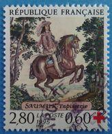 France 1995  : Au Profit De La Croix-Rouge, Tapisserie De Saumur N° 2946 Oblitéré - France