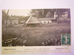 2020 - 6479  SOS  -  SAINT-PAU  (Lot-et-Garonne)  :  PISCICULTURE  -  Laboratoire D'éclosions  1910   XXX - Autres Communes