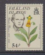 Falkland Islands 1985 Early Naturalists / Charles Darwin 54p Value  ** Mnh (48689) - Falkland Islands