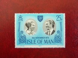 1973   Wedding Anne And Mark     SG = 41    ** MNH - Man (Insel)