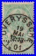 "COB N° 56 - Oblitération CONCOURS ""OVERYSSCHE"" - 1893-1900 Thin Beard"