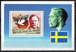 Niger - Mi-Nr Block 17 Postfrisch / MNH ** (H460) - Nobelpreisträger