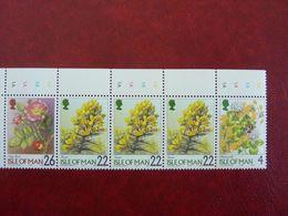 1999   Flowers     SG = 780 / 782   ** MNH - Man (Insel)