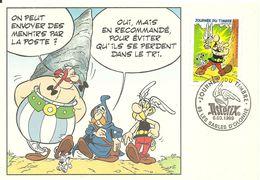 ( BANDES DESSINEES )( ALBERT UDERZO  )( ASTERIX ) ( PHILATELIE 1999 ) - Fumetti