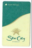 Star City Hotel, Sidney, Australia, Used Magnetic Hotel Room Key Card # Starcity-1 - Hotelkarten