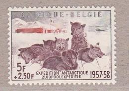 1957 Nr 1030** Postfris Zonder Scharnier.Zuidpoolexpedit Ie.OBP 3,5 Euro. - Belgium
