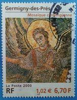 France 2000 : Série Artistique, Mosaïque De Germigny-des-près N° 3358 Oblitéré - Used Stamps