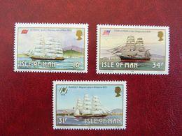 1988   Manx Sailing Ships    SG =  385 And 387 And  388  ** MNH - Man (Insel)