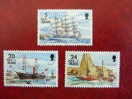 1993    Ships  SG = 542 / 543 And 547   ** MNH - Man (Insel)
