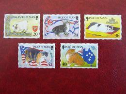 1996    Cats   SG = 678 / 682 ** MNH - Man (Insel)