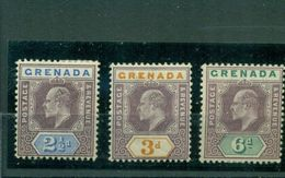 Grenada, König George V. Nr. 44 - 46 Falz * - Grenada (...-1974)