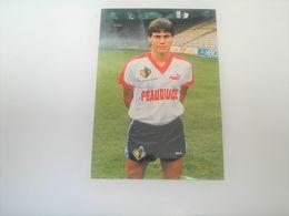 Photo FOOTBALL Signé Par  RUDI GARCIA , Lille Losc , Signature Authographe - Photographie