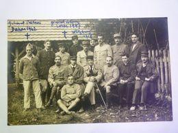 2020 - 6488  WÜLZBURG  (Bayern/Bavière)  1918  :  Carte Photo De Militaires  XXX - Guerre 1914-18