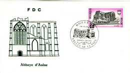 14169006 Belgique  19690215 Gozée, Vallée De La Paix; Abbaye D'Aulne; Fdc Cob1483 - FDC