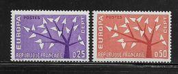 FRANCE  ( FR6 - 112 )  1962  N° YVERT ET TELLIER  N° 1358/1359    N** - Neufs