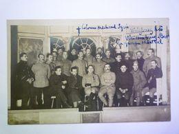 2020 - 6489  WÜLZBURG  (Bayern/Bavière)  1918  :  Le Groupe Théâtral  (prisonniers De Guerre)  XXX - Guerre 1914-18