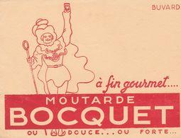 BOCQUET, à Fin Gourmet, Moutarde Bocquet, Ou Douce...ou Forte - Süssigkeiten & Kuchen