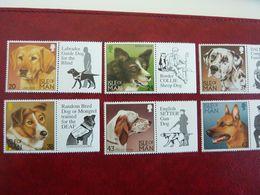 1996    Dogs   SG =  719 / 724  ** MNH - Man (Insel)