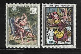 FRANCE  ( FR6 - 123 )  1963  N° YVERT ET TELLIER  N° 1376/1377    N** - Nuovi