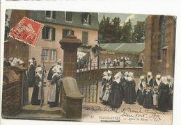 CPA,.29 , N°17 , Plougastel,après La Messe ,Animée Ed. LL. 1908 - Plougastel-Daoulas