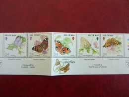 1993    Butterflies   SG =  573 / 577 ** MNH - Man (Insel)