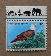 NY95-01 : Nations-Unies (New-York) / Protection De La Nature - Haliaeetus Leucocephalus (Pygargue à Tête Blanche) - Unused Stamps