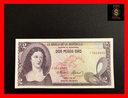 COLOMBIA 2 Pesos Oro 1.1.1977 P. 413 UNC - Kolumbien