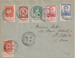 BELGIQUE 1914 GOUVERNEMENT BELGE EN FRANCE LETTRE DE LE HAVRE - Other