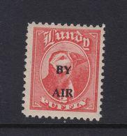 #06 Great Britain Lundy Puffin Stamp 1951-53 By Air Wide O/print #69A 1/2p Mint - Emissione Locali