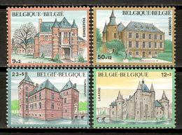 Belgium 1985 Bélgica / Architecture Castles Palaces MNH Arquitectura Castillos Palacios / Kz23  18-17 - Castillos