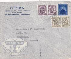 BELGIQUE 1947 PLI AERIEN DE BRUXELLES - Belgium