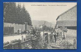 LIGNY-en-BARROIS  Vue Prise De La Rue De St Aubin         Animées     écrite En 1906 - Ligny En Barrois