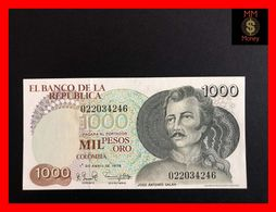 COLOMBIA 1.000 1000 Pesos Oro 1.4.1979 P. 421 UNC - Kolumbien