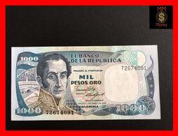 COLOMBIA 1.000 1000 Pesos  Oro 1.1.1986 P. 424 UNC - Kolumbien