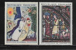 FRANCE  ( FR6 - 149 )  1963  N° YVERT ET TELLIER  N° 1398/1399    N** - Nuovi