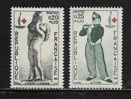 FRANCE  ( FR6 - 151 )  1963  N° YVERT ET TELLIER  N° 1400/1401    N** - Neufs
