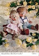 Mecki (Diehl-Film): Herzlichen Glückwunsch Weiße Rosen Auf Dem Tisch 1970 - Mecki