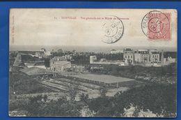 DONVILLE   Vue Générale Sur La Route De Coutances     écrite En 1906 - Frankreich