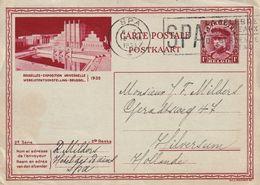 BELGIQUE 1933     ENTIER POSTAL/GANZSACHE/POSTAL STATIONARY CARTE ILLUSTREE DE SPA - Stamped Stationery