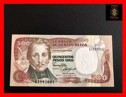 COLOMBIA  500 Pesos Oro 12.10.1987  P. 431  UNC - Kolumbien